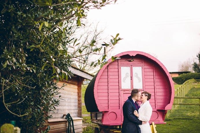 Flies & Gav | Huntstile Organic Farm | Wedding
