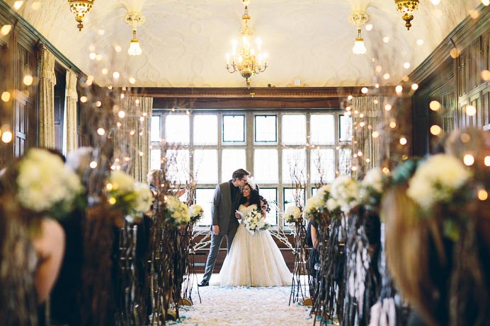 Lina & Tom | Fanhams Hall | Wedding