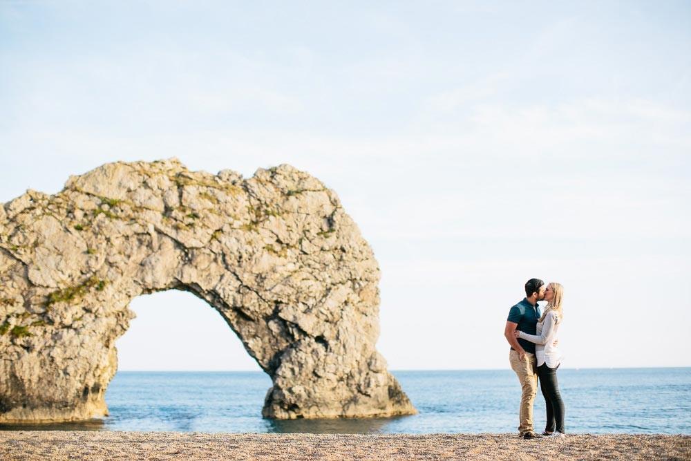Sophie & Adam | Durdle Door | Engagement Shoot