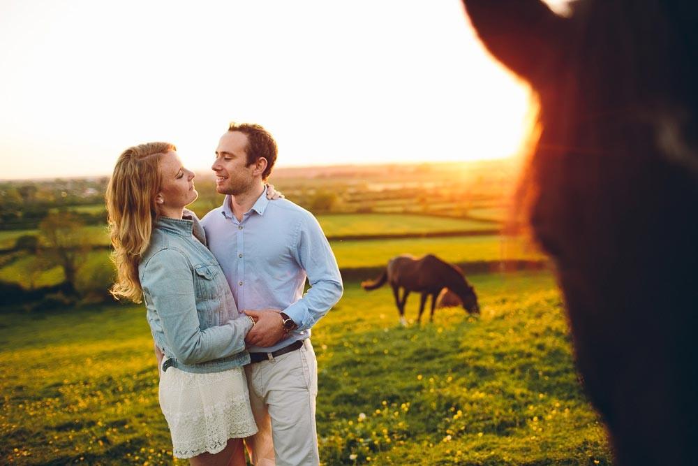 Elles & Nick | Engagement Shoot | UK Countryside