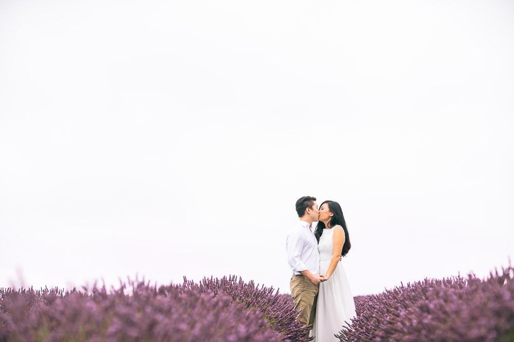 Diana & Phillip | Lavender Field | Engagement Shoot