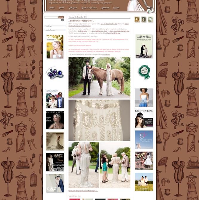 Vintage Wedding Blog | Love My Dress | Sponsor
