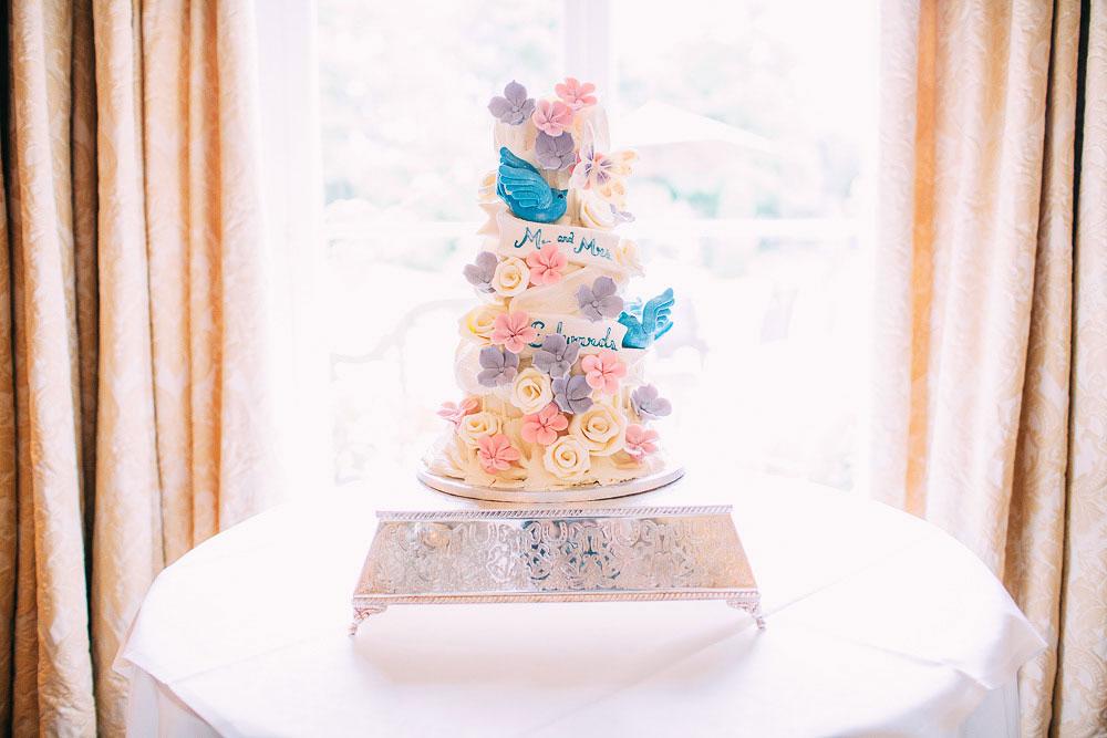 Guyers House Wedding cake