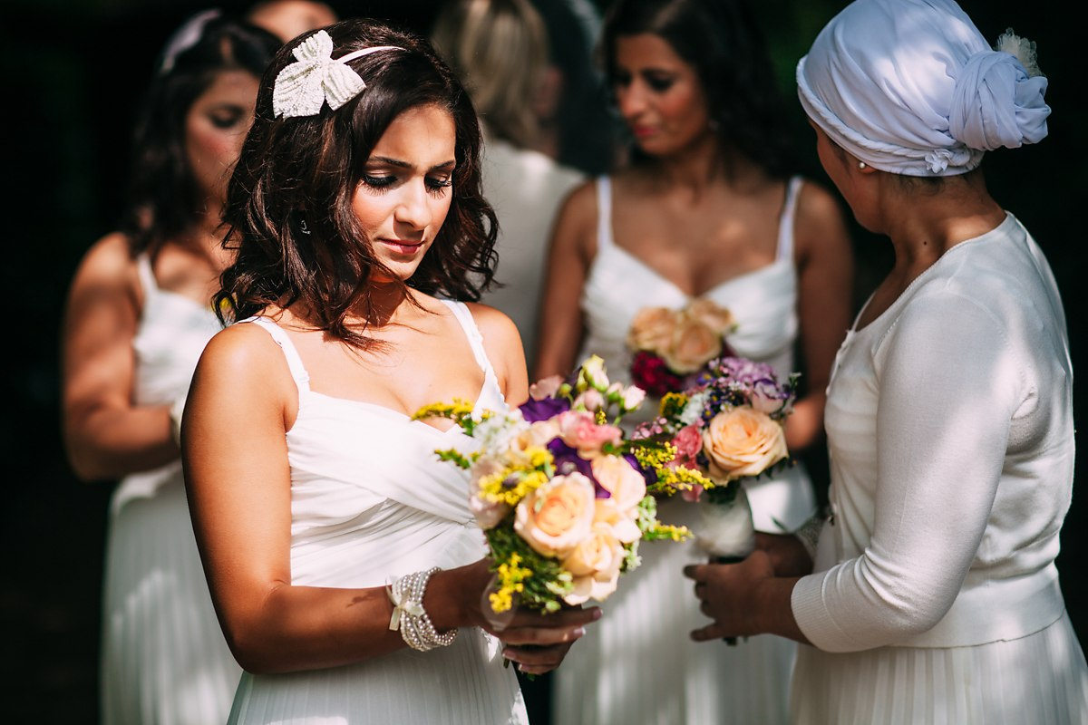beautiful wedding photography of the bridesmaids