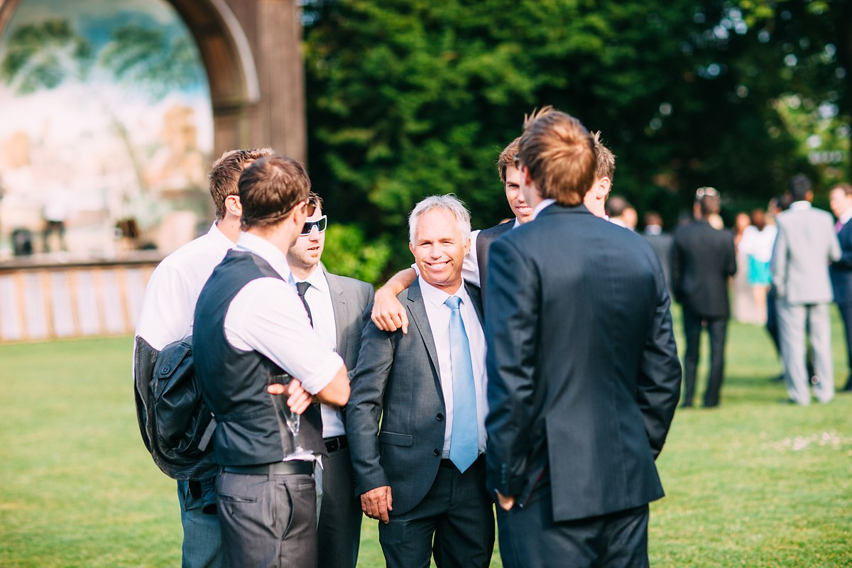 sunny fun outdoor wedding at larmer tree gardens