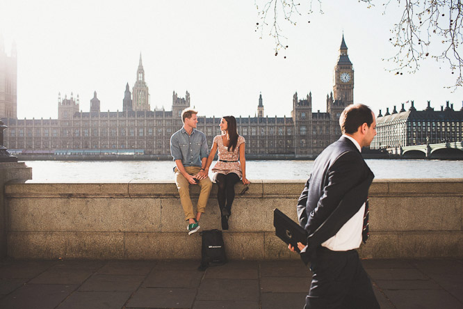 creative engagement shoot in london