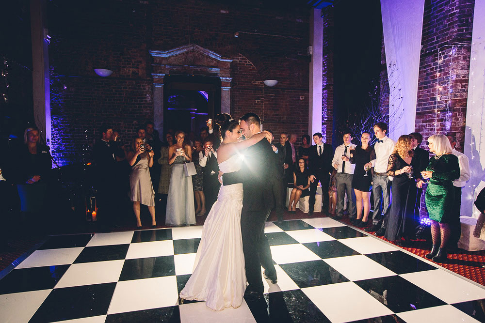 first dance at Highcliffe Castle Wedding