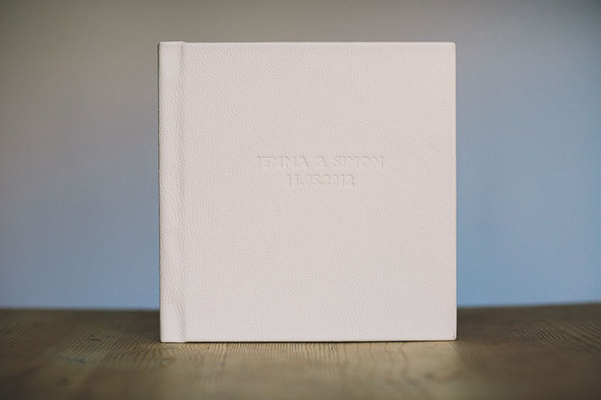 modern leather wedding albums