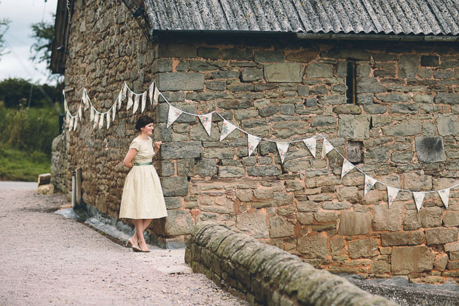 Lyde Court decorated for a wedding