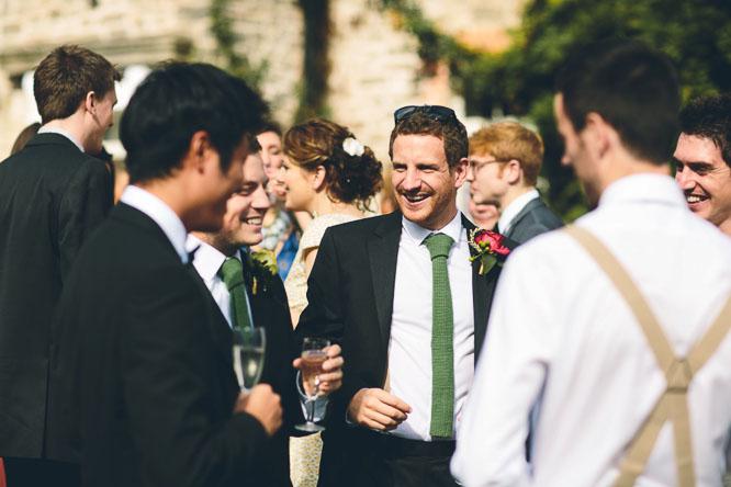 cool green wedding ties