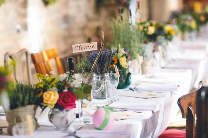cool rustic table decorations
