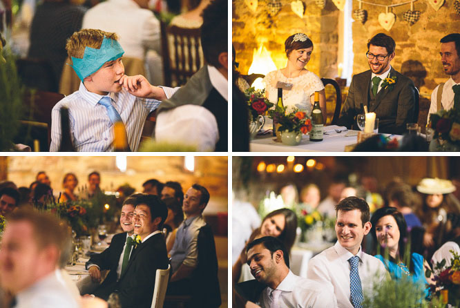 wedding guest reactions
