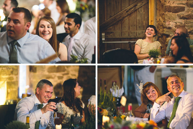 reportage photo of guest reactions