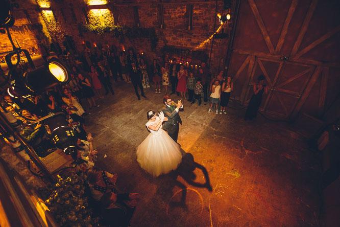 barn wedding in hereford