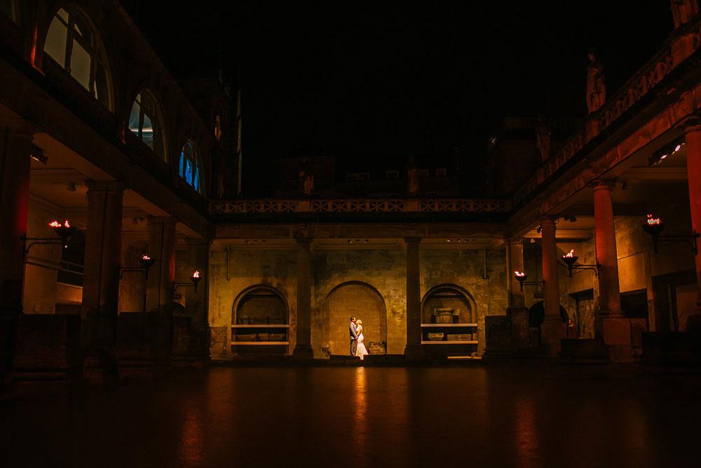 roman baths wedding photography