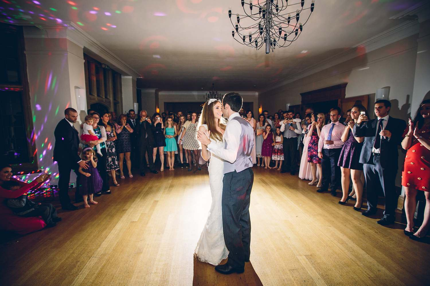 first dance inside coombe lodge