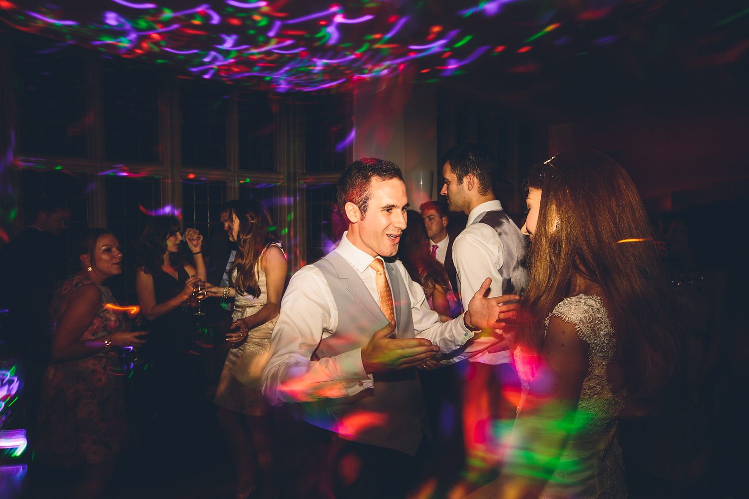 groom dancing at his wedding