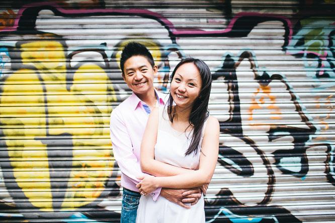 graffiti couple photo