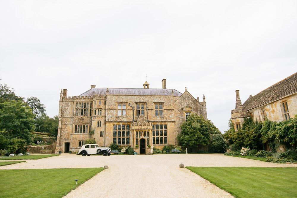 Brympton House photographed from the front