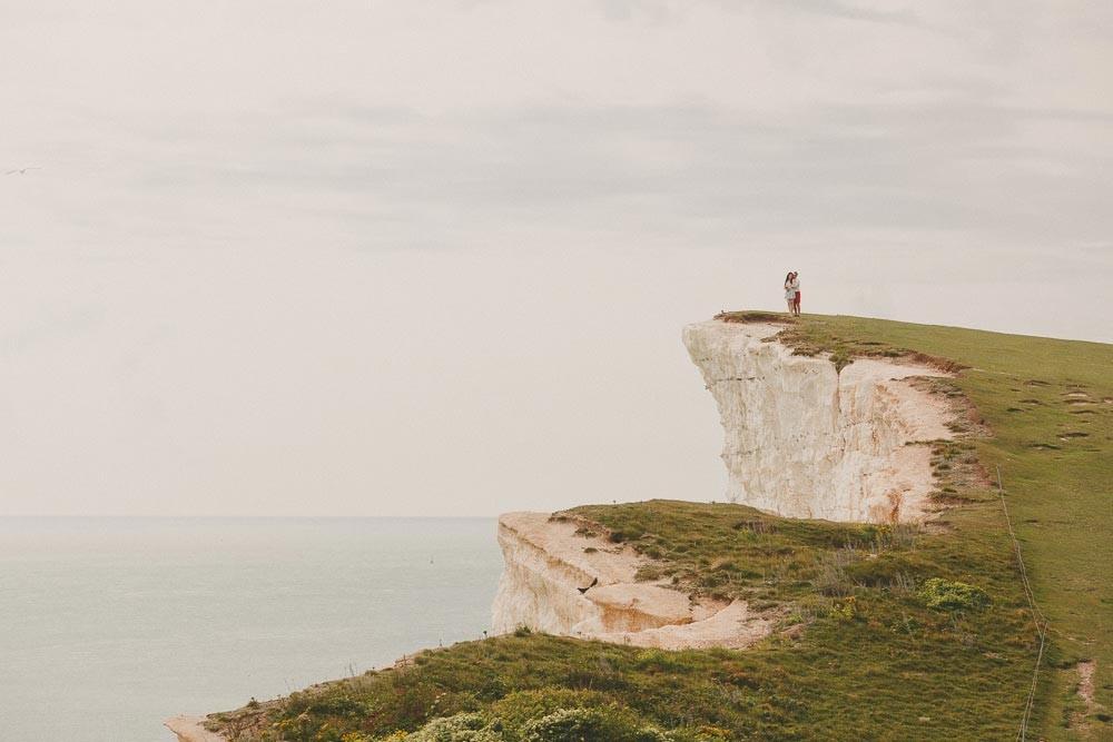 Samantha & Richard | Beachy Head | Engagement Shoot