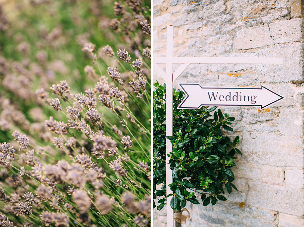 wedding sign out side of Caswell House