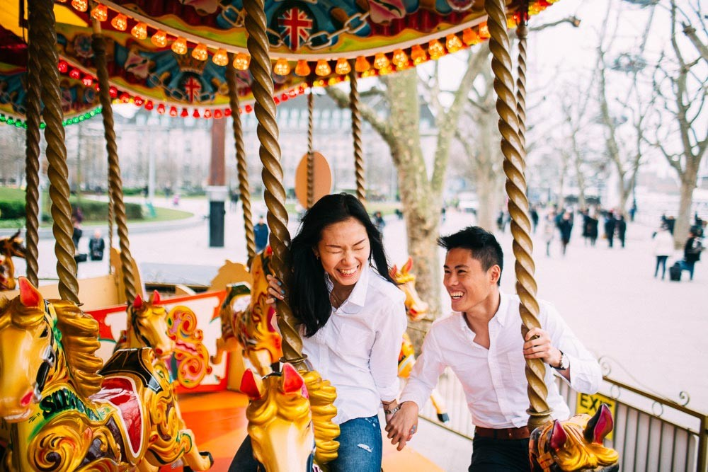 Yan & Jonathan | Engagement Shoot | London