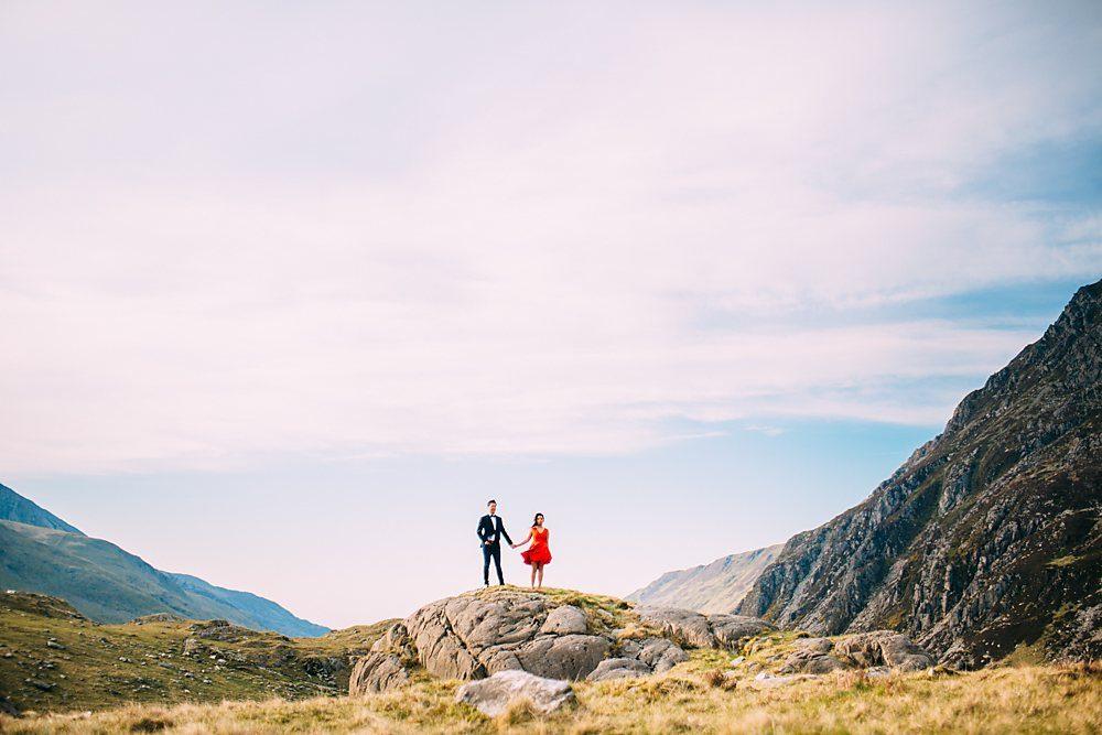 Engagement Shoot Snowdon