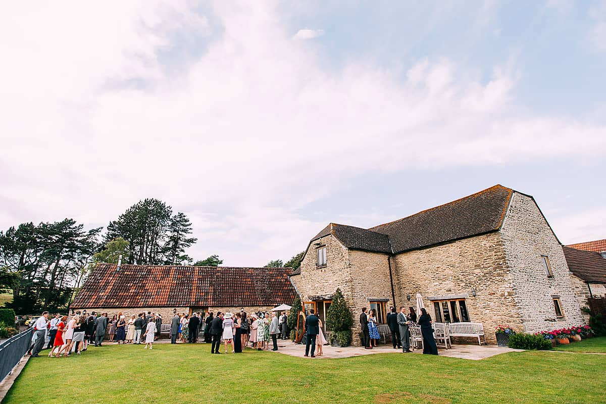 Kingscote Barn natural wedding photos