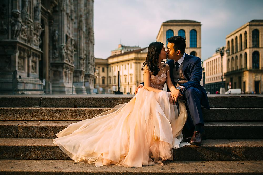 Milan Pre Wedding Shoot