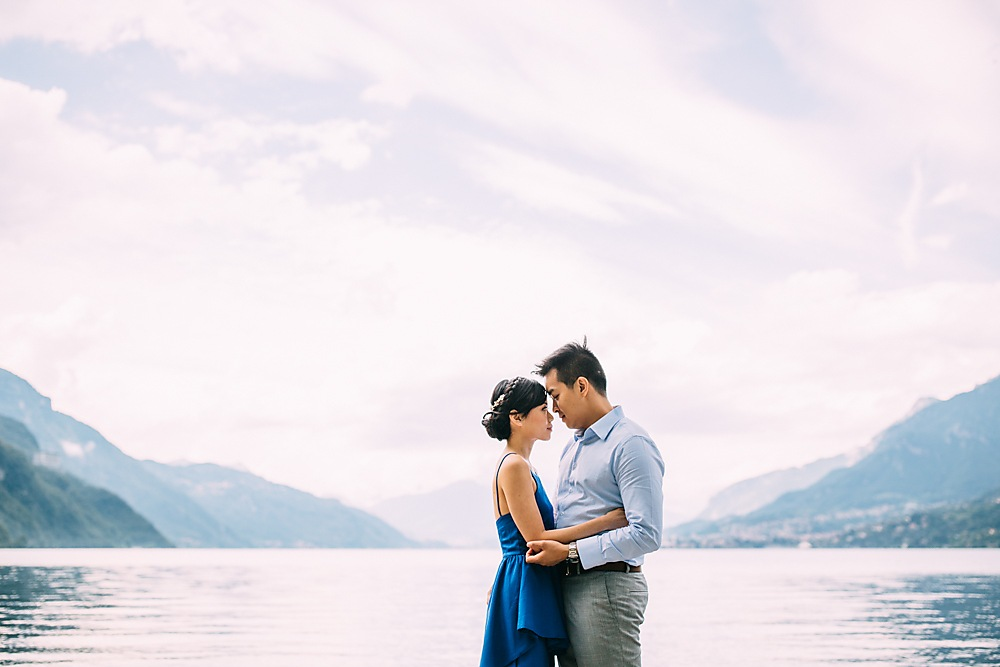 Pre Wedding Shoot Lake Como