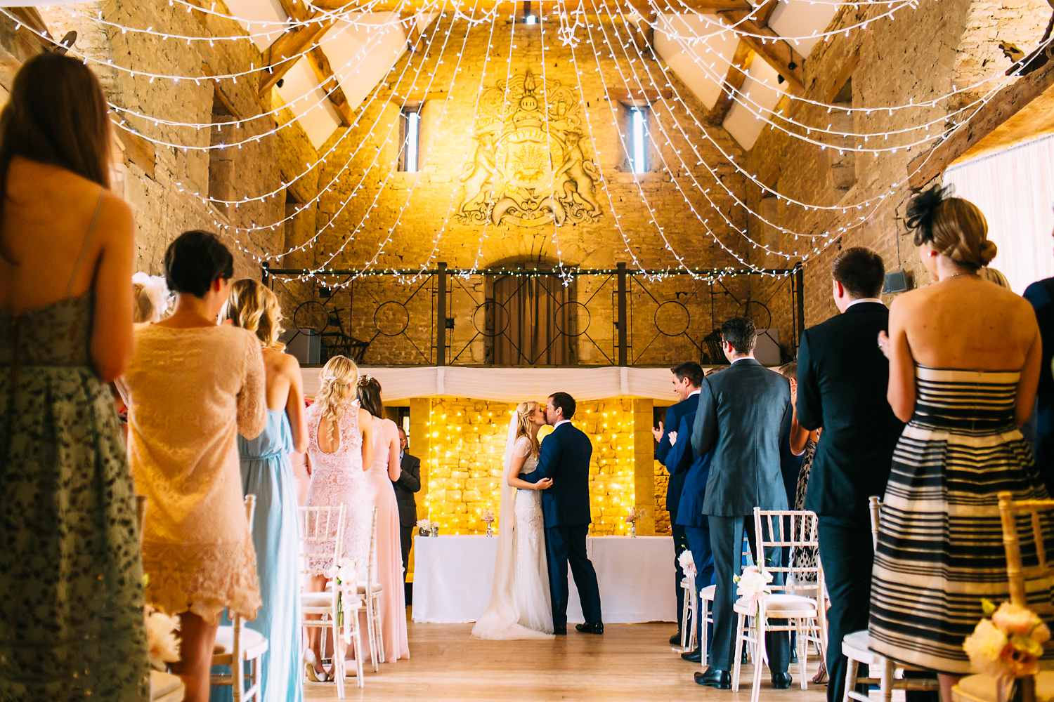 Great Tythe Barn Wedding ceremony