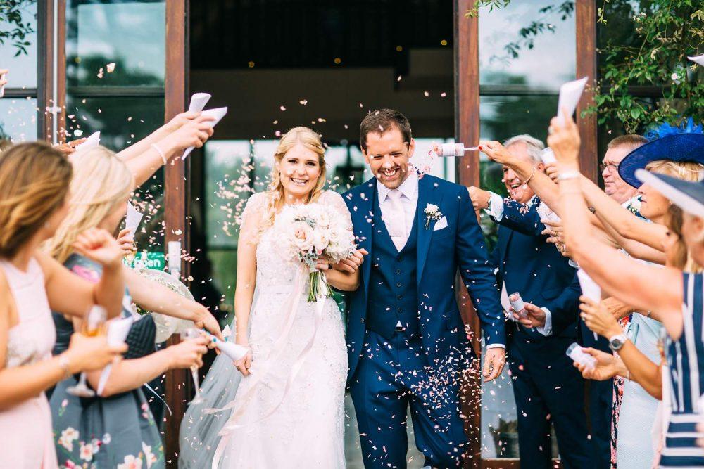 Confetti Photo Barn Wedding
