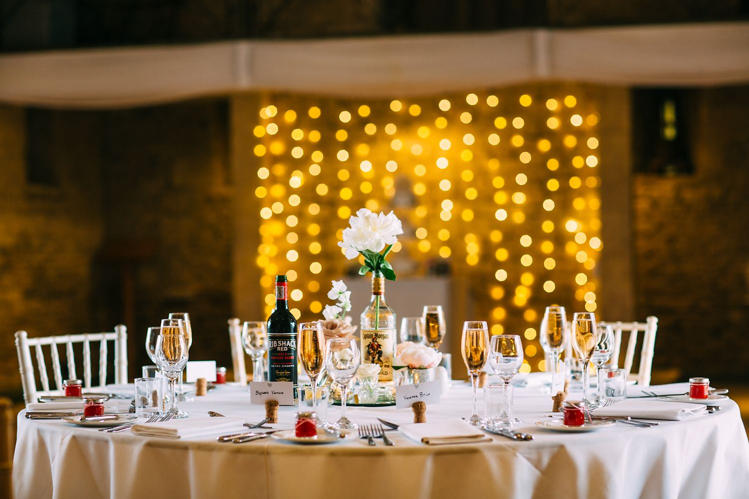 Great Tythe Barn Wedding styling