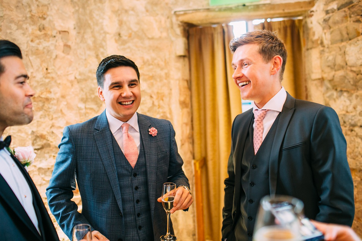 lulworth castle documentary wedding photographer