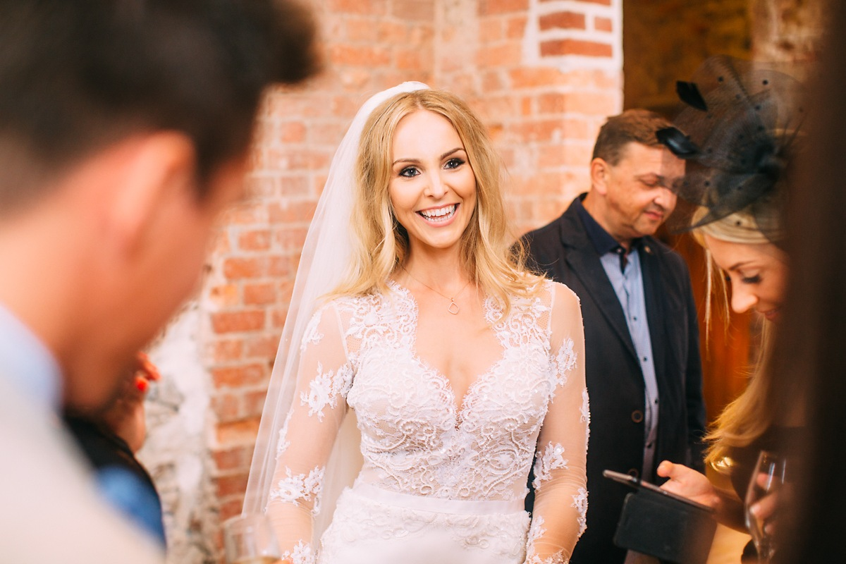 beautiful blonde bride