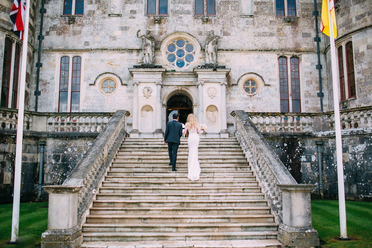 traditional Lulworth Castle wedding photographer