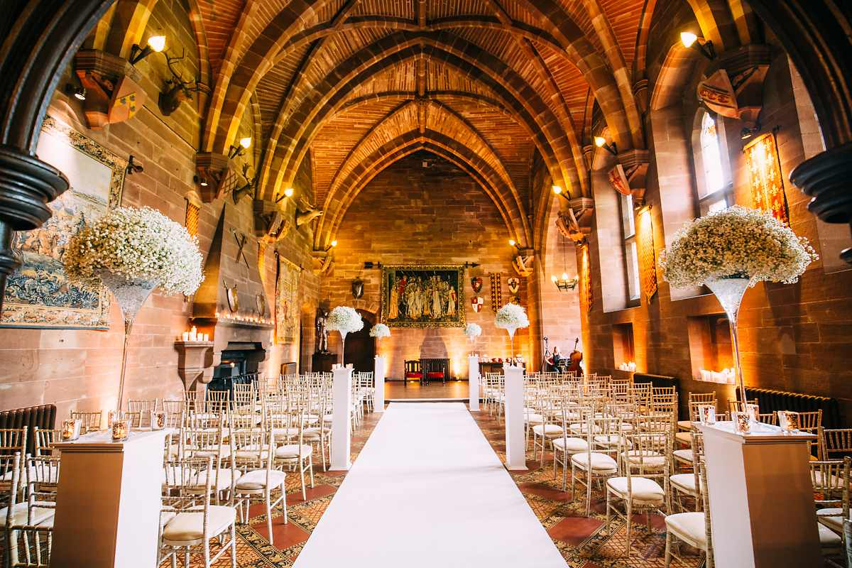 Peckforton Castle Wedding Photographer 015