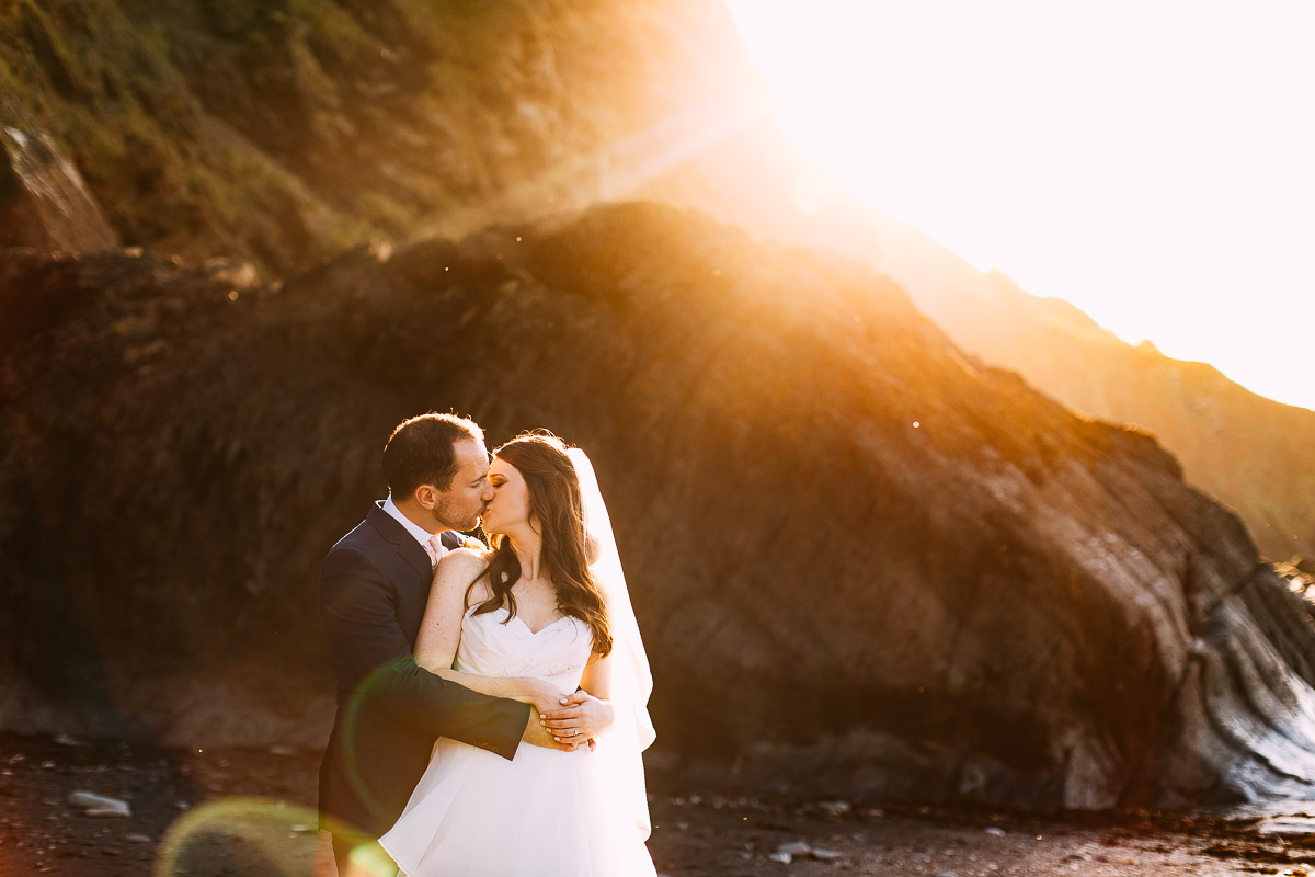 Tunnels Beaches wedding photographer