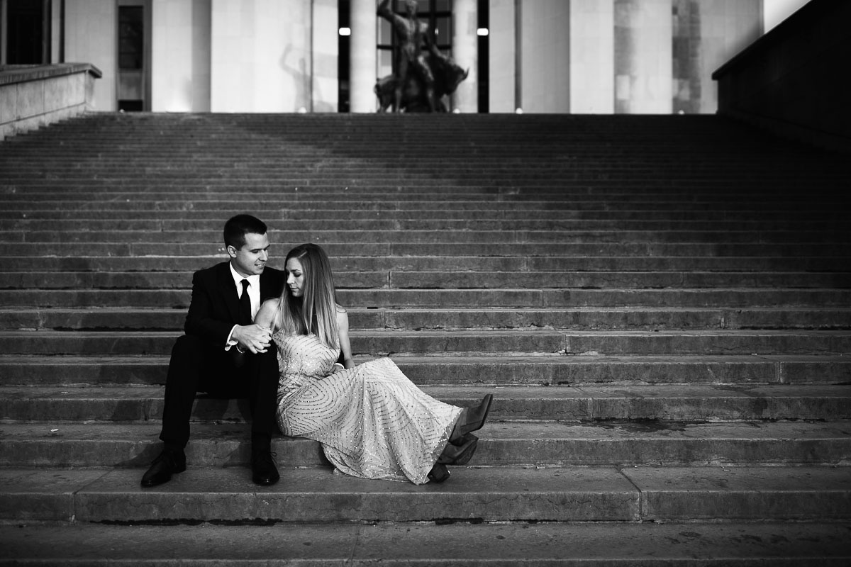 moody paris pre wedding shoot