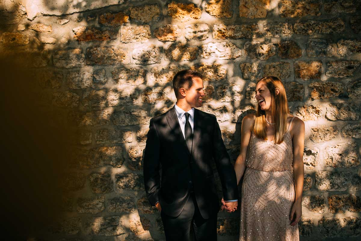 dappled light engagement shoot in paris
