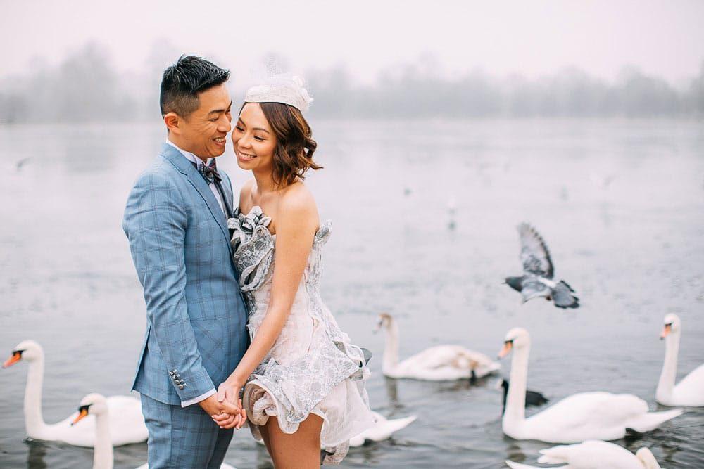 UK Pre Wedding Shoot In London