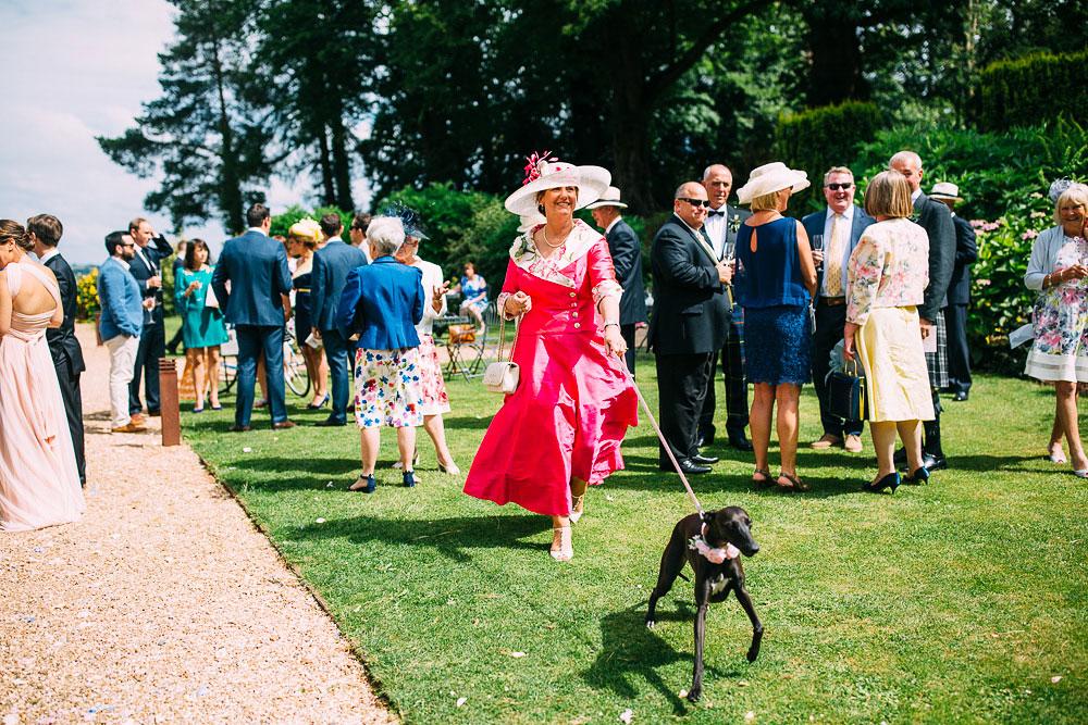 Outdoor Wedding Ceremony Coombe Lodge