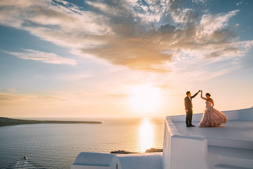 Pre Wedding Shoot Santorini