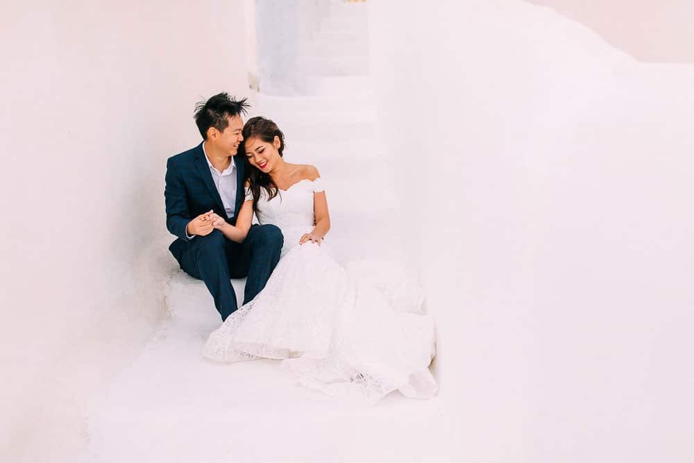 Carina & Suyuan | Pre Wedding Shoot | Santorini
