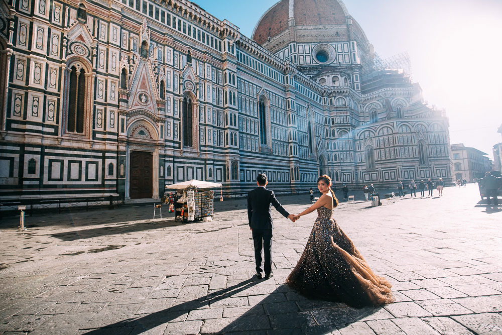 Pre Wedding Shoot Florence duomo