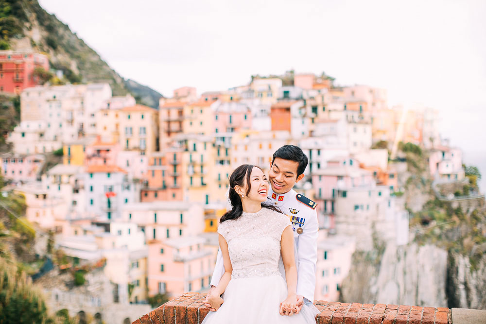 Edwin & Xiao Ying | Cinque Terre | Pre Wedding Shoot