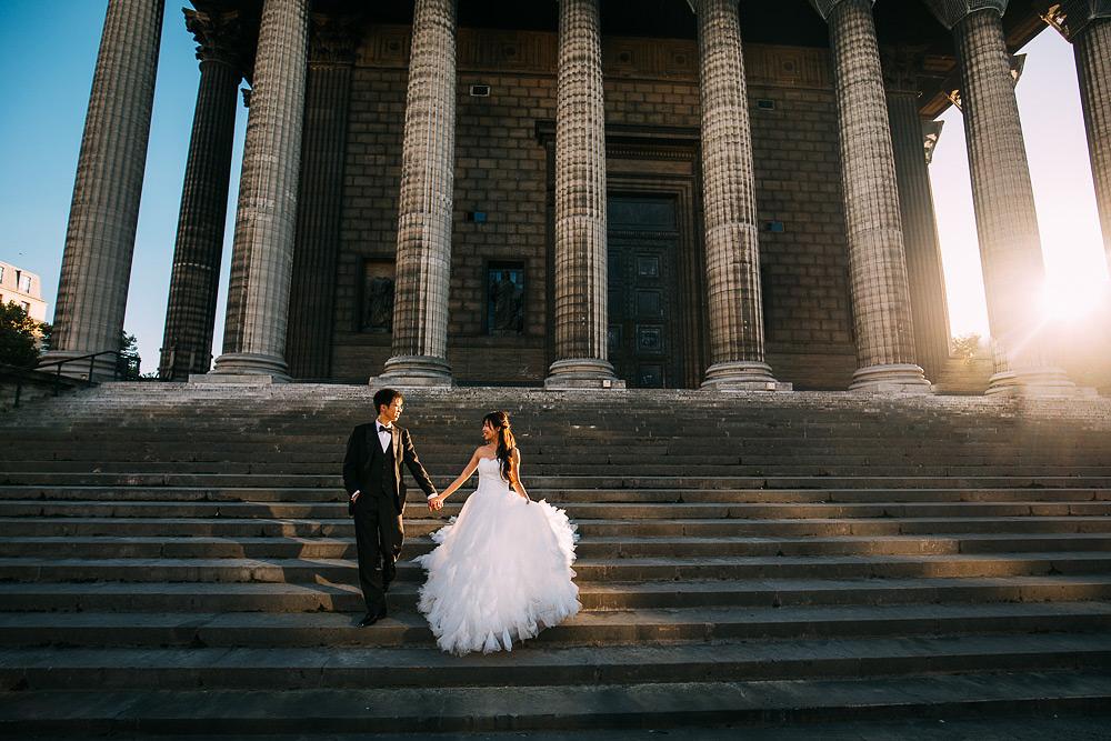 Rachel & Heywood | Pre Wedding Shoot | Paris