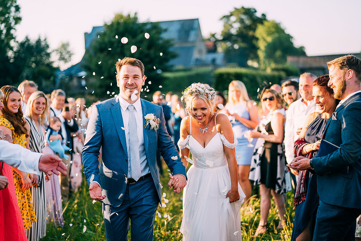 beautiful confetti shot at cripps barn