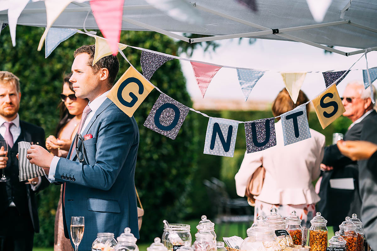 nuts at a wedding
