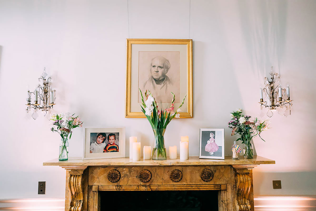 North Cadbury Court wedding styling